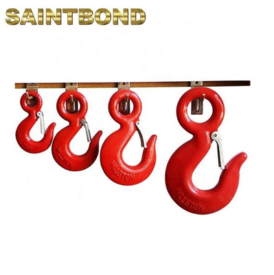 Factory price weight lifting forged alloy steel slip small crane hooks