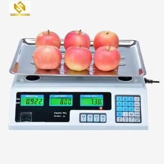 ACS208 40kg Digital Price Computing Scale 30kg Electronic Weighing Scale With Touch Key-Press