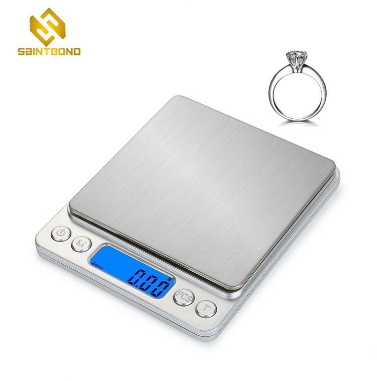 PJS-001 500g x 0.01g Superior Mini Digital Platform Counting Scale Jewelry Weighing Scale