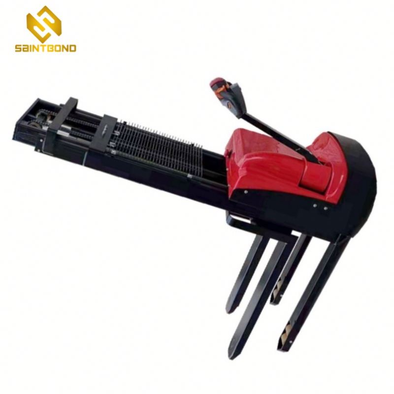 PSES11 12v powerful battery and hand push stacker with DC motor
