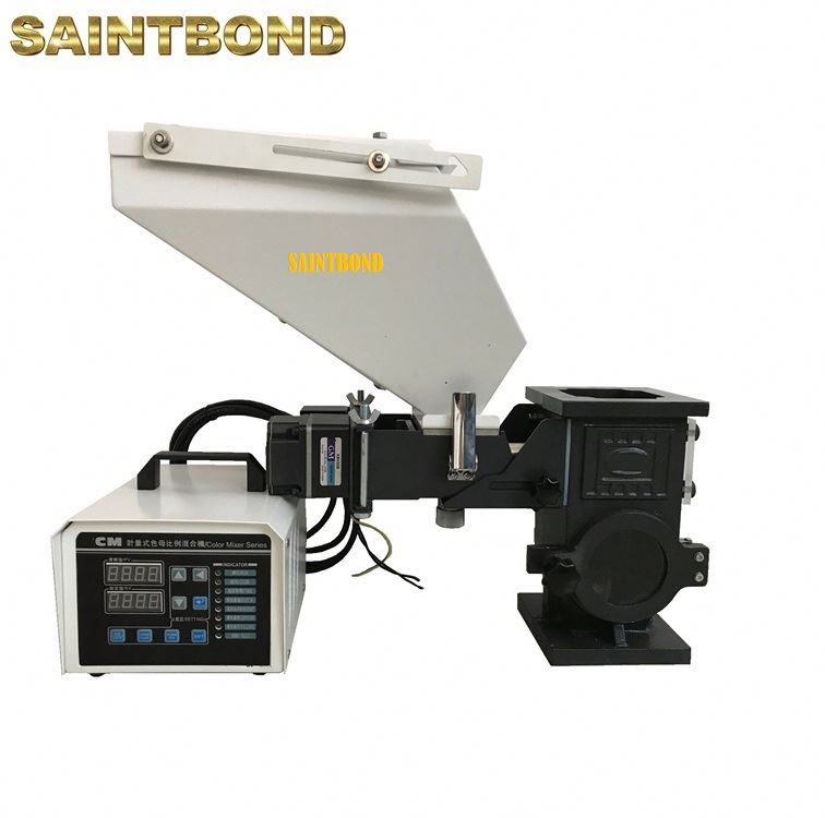 screw dosing unit master batch mini mixer for extruder pvc mixing machine volumetric color doser