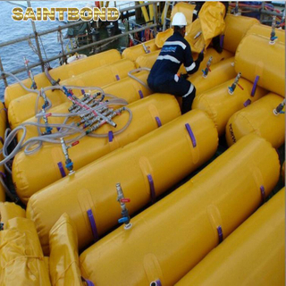 proof testing 150 persons marine 375kg bag water bags for lifeboat load test