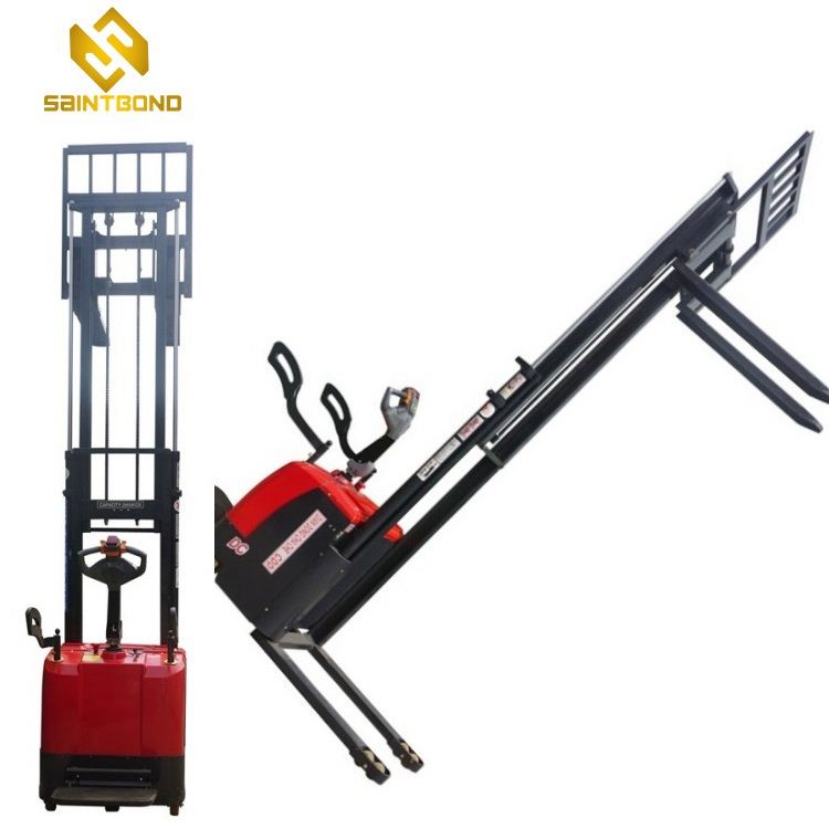PSES11 Electric lift 2200lbs 1ton 118inch 3m Walkie Pallet Electric Stacker Forklift