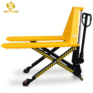 JF01 Hand Pallet scissor 2200lbs capacity hydraulic high lift truck manual pallet truck