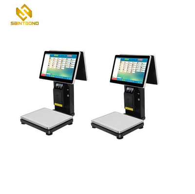 PCC01 2020 POS system with thermal printer cash drawer barcode scanner