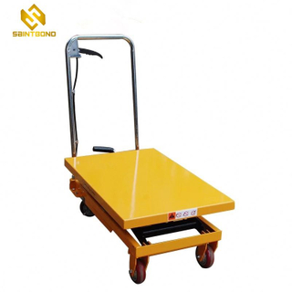 HSL02 Hydraulic Roller Top Scissor Lift Table Lifting Height 1000mm Table Dimension