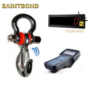 Digital 100kg type weight load indicator 20Ton weighing for crane rotatable hook scale