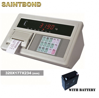 Weighing with printer A9 Truck Scale type weighbridge parts indicator Weight and Load Cell Indicators