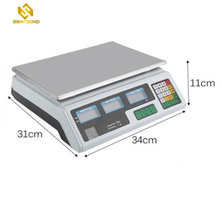 ACS208 30kg Electronics Digital Price Computing Weighing Scale With 1g Pricesion And Counting Feature
