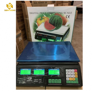 ACS208 40kg Electronic Price Scale Digital Price Computing Scale Table Top Scale