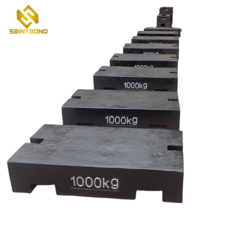 TWC02 1 ton cast iron test weight plate for crane