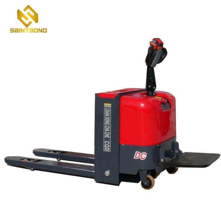 PSES12 3000KG powerful Battery operated electric pallet truck with pedal CE certificate 1 year warranty