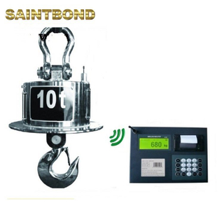 Professional manufacture wireless anti-heat machine balance 300kg digital crane 50t hook type weighing scale