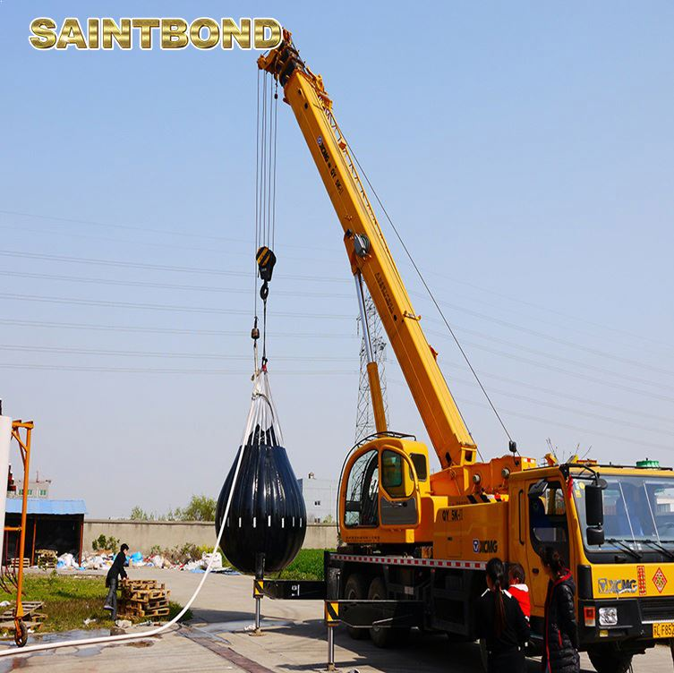 12.5 ton 5ton testing bags offshore crane load test weight for sale water weights lift bag
