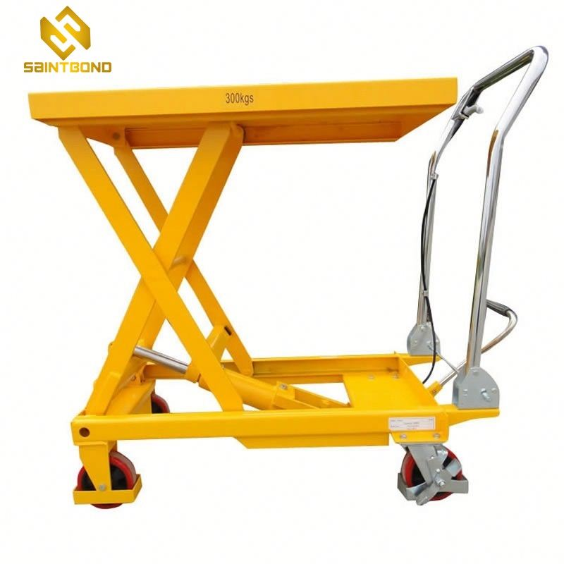 HSL02 Manual Hydraulic Scissor Lift Table Lifter high quality