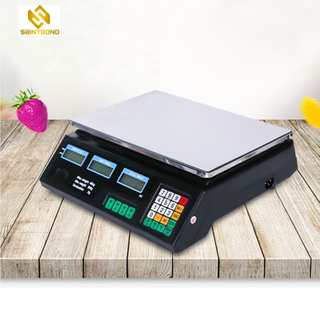 ACS208 40kg Digital Price Computing Scale Electronic Weighing Scale With Stainless Steel Button