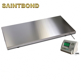 Sheep weighbridges chute Vet Livestock Scale Stainless Steel cattle weighing scales for sale