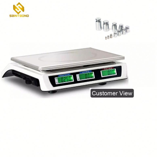 ACS809 30kg/40kg Kitchen Shops Supermarkets Electronic Price Computing Scale