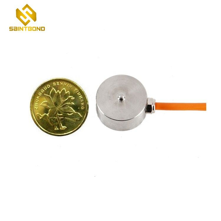 Mini011 Compression type sub miniature button load cell 300kg 500kg