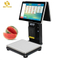 PCC01 touch screen pos with 88mm printer,15.6 inch win-dow with led8 ved pos system