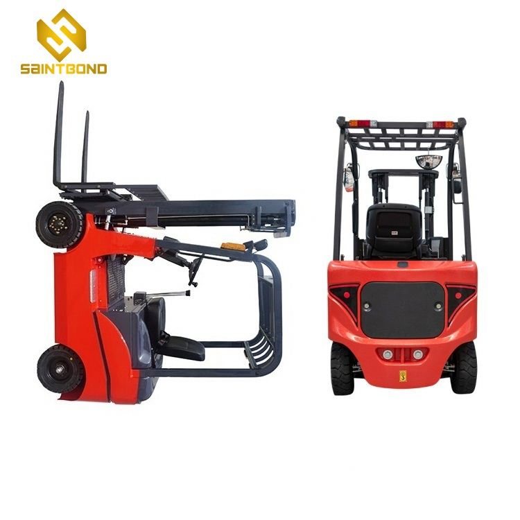 CPD Forklift 4400lbs 157inch lift height Electric Fork Lift Truck Hydraulic Stacker Trucks